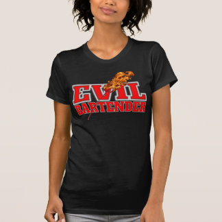 Evil Bartender Drinking Tee Shirt