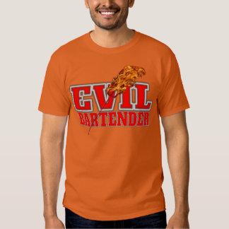 Evil Bartender Drinking Tshirts