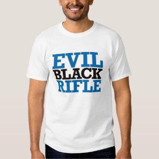 Evil Black Rifle - Blue and Black T-shirts