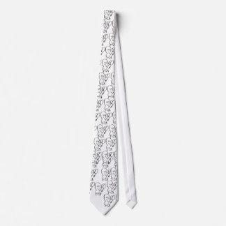 evil boy tie, super zef tie