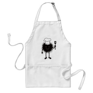 Evil Bug Chef Loves To Cook Standard Apron