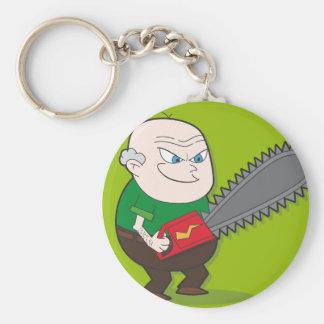 Evil Chainsaw man Key Ring