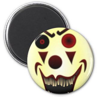 Evil Clown #2 Refrigerator Magnets