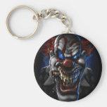 Evil Clown And Cigar Key Chains