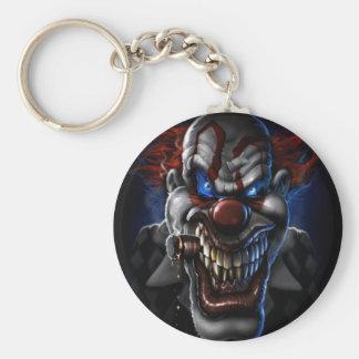 Evil Clown And Cigar Key Ring