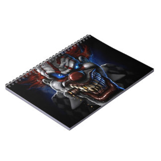 Evil Clown And Cigar Notebooks