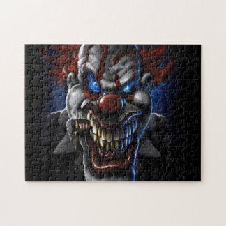Evil Clown And Cigar Puzzles