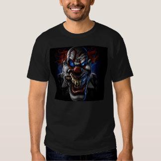 Evil Clown and Cigar Tee Shirt