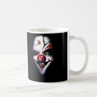 Evil Clown Basic White Mug