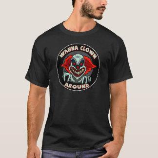 Evil Clown Biker T shirts Gifts