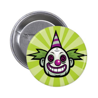 Evil Clown Button