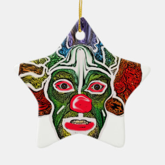 Evil Clown Collection (EC) Ceramic Star Decoration