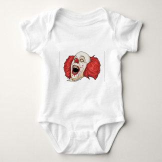 Evil clown design infant creeper