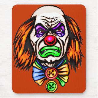 Evil Clown Face Mouse Mat