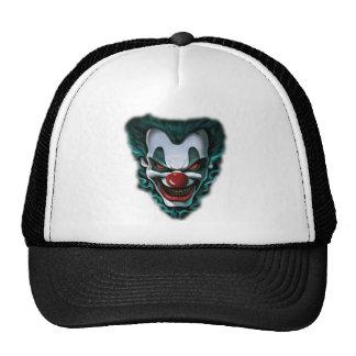 Evil Clown Funny Tshirts Mesh Hats