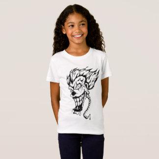Evil clown Girls' Fine Jersey T-Shirt