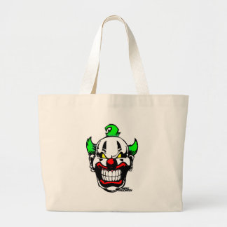 EVIL CLOWN ( Happy Halloween ) Tote Bags