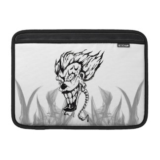 Evil clown Macbook sleeve