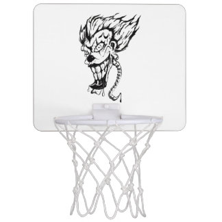 Evil clown Mini Basketball Goal Mini Basketball Hoop