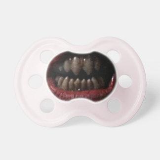 Evil Clown Mouth Pacifier