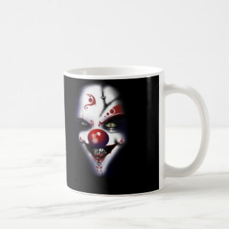 Evil Clown Classic White Coffee Mug