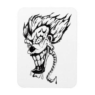 Evil clown Photo Magnet