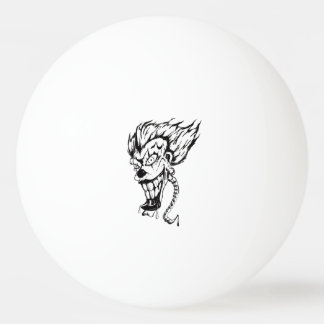 Evil clown Ping Pong Ball