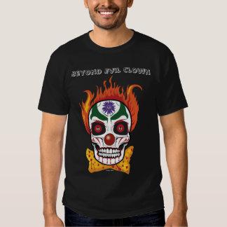 Evil Clown Skull Demon Men's Tshirt