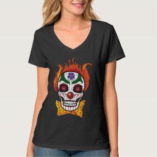 Evil Clown Skull Demon T-shirt Top Gift Idea