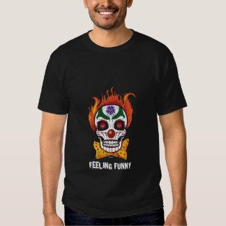 Evil Clown Skull Feeling Funny Tshirt