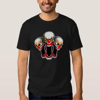 Evil Clown Trio T Shirt