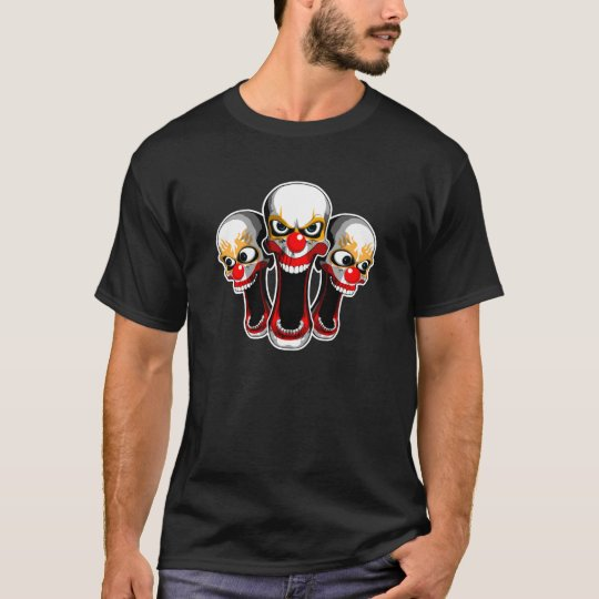 Evil Clown Trio T-Shirt