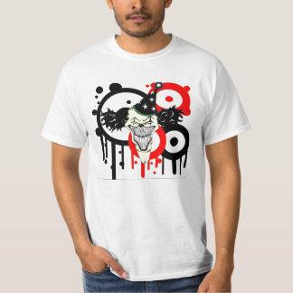 evil clown tshirt