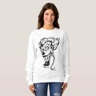 Evil clown Women's Basic Sweatshirt