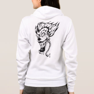 Evil clown Women's Bella+Canvas Full-Zip Hoodie