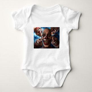 Evil Clowns Infant Creeper