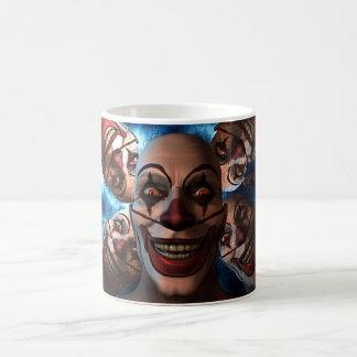Evil Clowns Classic White Coffee Mug