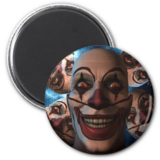 Evil Clowns - Trick or Treat! Refrigerator Magnet