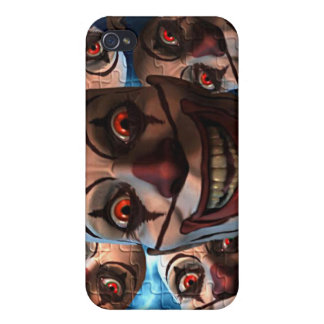 Evil Clowns with Bulging Eyes Covers For iPhone 4