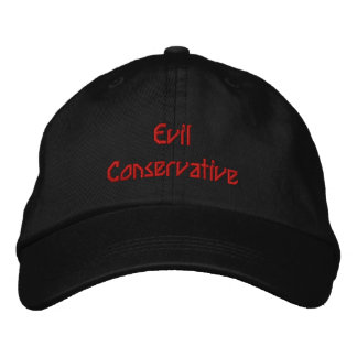 Evil Conservative Embroidered Cap