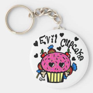 evil cupcake-Keychain Key Ring