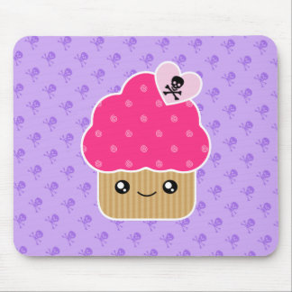 Evil Cute Cupcake Of Death Kawaii Mousepad