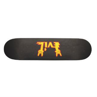 EVIL DESIGN Logo Deck Skateboard Decks