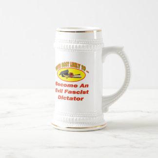 Evil Dictator Beer Steins
