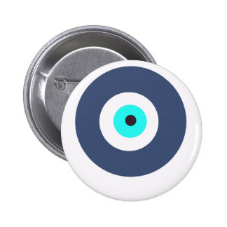 Evil eye 6 cm round badge