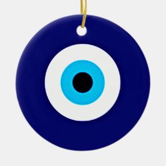 Evil Eye Charm Christmas Ornament