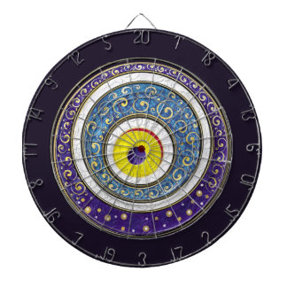 Evil Eye Dartboard With Darts