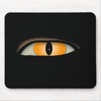 Evil Eye Design Mouse Mat