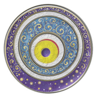 Evil Eye Party Plate