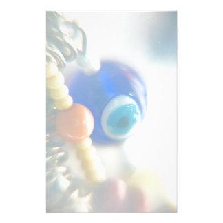 Evil Eye Photograph Personalized Stationery